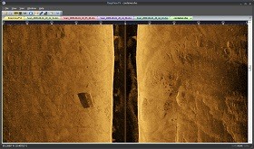 DeepView FV side scan sonar software