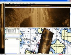 DeepView SE side scan sonar software
